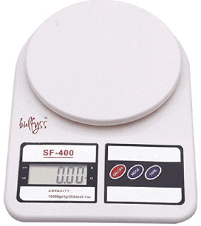Bulfyss Electronic Kitchen Digital Weighing Scale