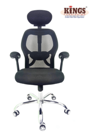 The next office chair in our list belongs to Kings Matrix. This high back office chair comes in an elegant shade of black well suited for office.  sc 1 st  HomeZene & Best Office Chairs To Buy Online In India