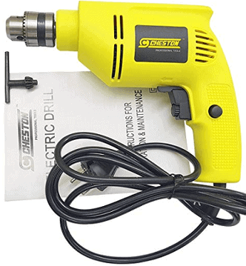 Cheston 10mm Drill Machine for Drilling Wall, Metal, Wood