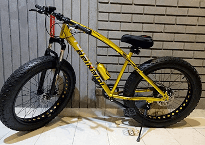 Love Freedom Jaguar Fat Bicycle with Dual Disc Breaks