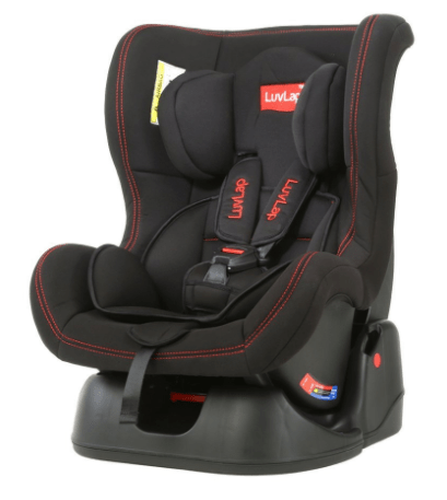Luvlap Baby Convertible Sports Car Seat Black
