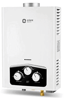 Orient Electric Vento 6-Litre Gas Water Heater with Display (White)