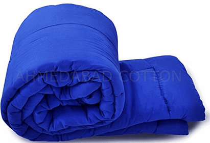 Ahmedabad Cotton Ultra-Plush Solid Microfibre Double Comforter
