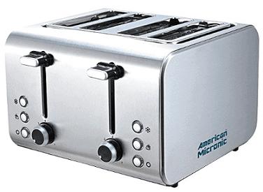 American Micronics AMI TSS2 150Dx Pop-up Toaster