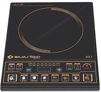 Bajaj Majesty ICX 7 1900-Watt Induction Cooktop