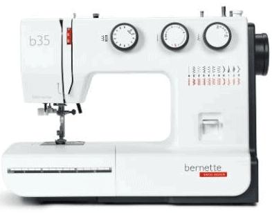 Bernette b35-60 Stitch functions