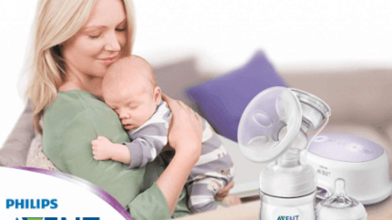 Electric Breast Pump Breastfeeding Large LCD Double//Single Suction Massager Kit