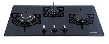 Gilma Gst-3b hob 3 burner with 1 trp burner