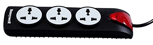 Honeywell 3 Out Surge Protector with master switch