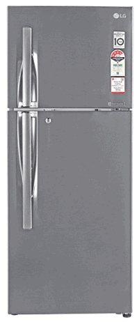 LG 260 L 4 Star Frost-Free Double Door Refrigerator