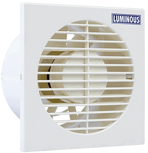 Luminous Exhaust Fan - Vento Axial 150 mm