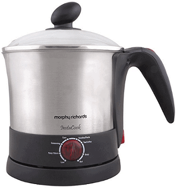 Morphy Richards InstaCook 1200-Watt Electric Kettle