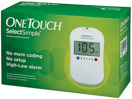 OneTouch Select Simple Glucometer
