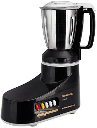 Panasonic MX-AC400 550-Watt 4-Jar Super Mixer Grinder