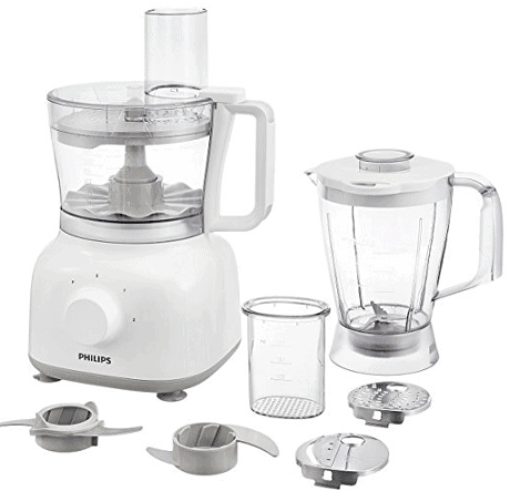 Philips Daily Collection HR7628-00 650-Watt Mini Food Processor