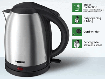 Philips HD9306-06 1.5-Litre Electric Kettle