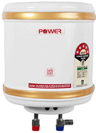Powerpye 10 Litre Water Heater Geyser 5 Star Isi Mark