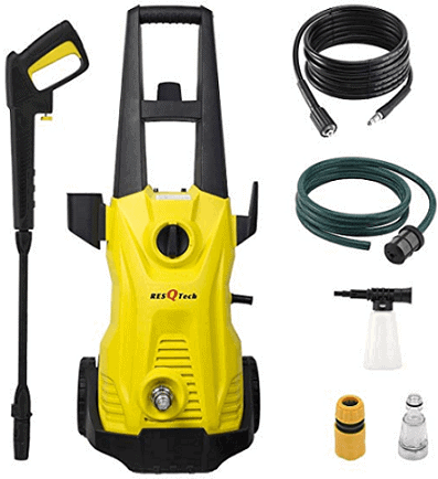 ResQTech 1700-Watt 135 BAR High Pressure Washer