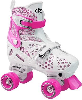 Roller Derby Girls Trac Star Adjustable Roller Skates