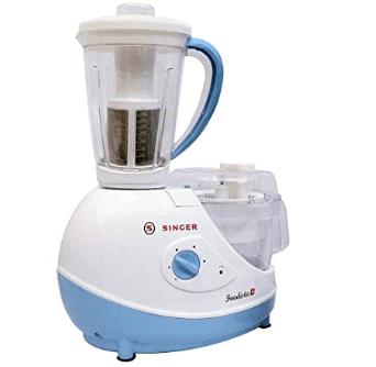 Singer Foodista Plus 600 Watts Food Processor with 14 Attachements