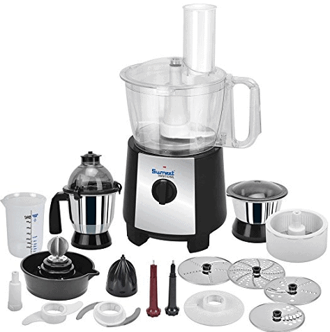Sumeet Traditional Food Processor Fp-999 750W Mixer Grinder