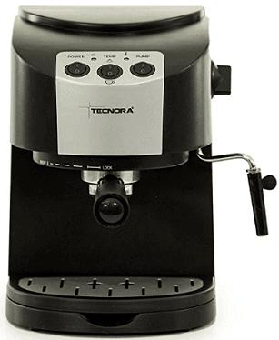TECNORA Classico TCM 107 M Thermoblock Pump Espresso and Cappuccino Coffee Maker