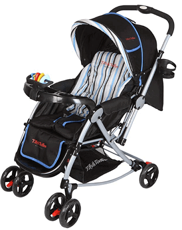 Tiffy & Toffee 3 in 1 Baby Stroller Pram