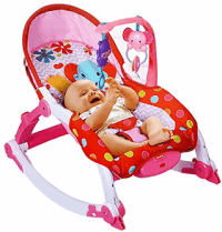 Toyshine Newborn to Toddler Vibrating Rocker Chair