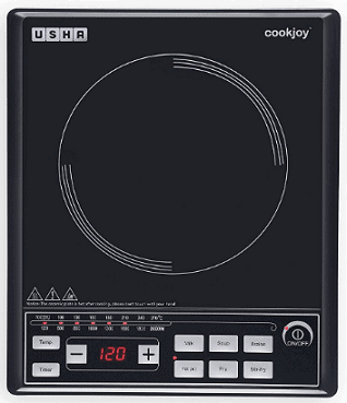 Usha Cook Joy 2102 P 2000-Watt Induction Cooktop