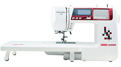Usha Janome Dream Maker 120 35-Watt Computerized Sewing Machine