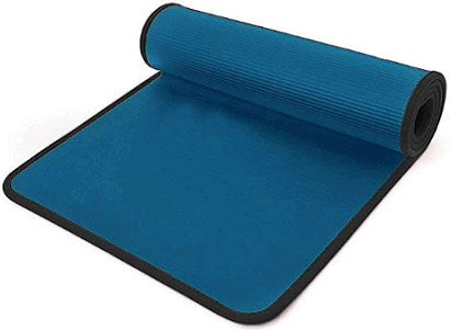 i-Heir 6mm Thick High-Density Anti-Tear Exercise Power Yoga Mat