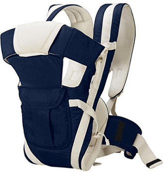 Chinmay Kids 4-in-1 Polycotton Adjustable Baby Carrier