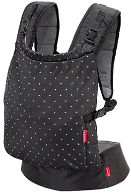 Infantino Zip Travel Carrier Black