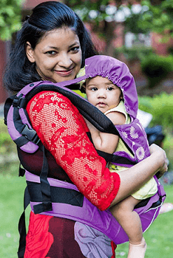 Kiddale Cotton Baby Carrier Sling Bag