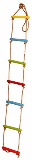 Skillofun Wooden Rope Ladder