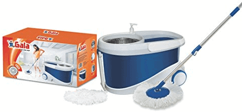 Gala Jet Spin mop with stainless steel wringer