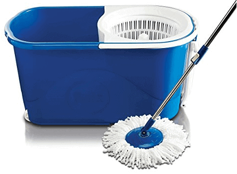 Gala Spin mop with easy wheels and bucket