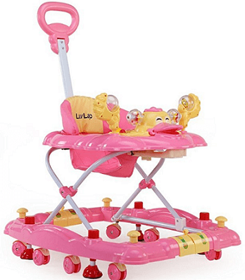 Luvlap Comfy Baby Walker with Adjustable Height