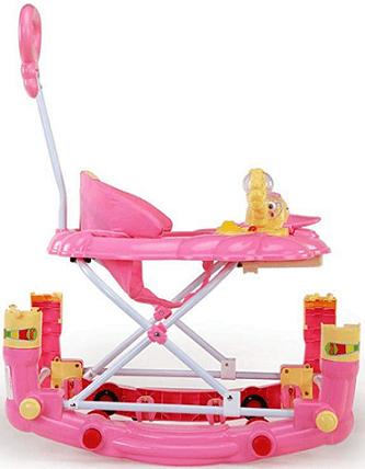 Luvlap Comfy Baby Walker with Adjustable Rocker