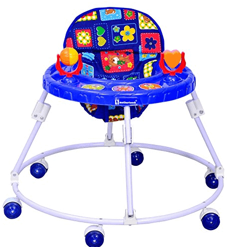 Mothertouch Round Walker (Blue)