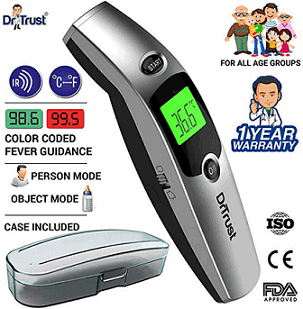 Dr Trust Infrared Forehead Temporal Artery Thermometer
