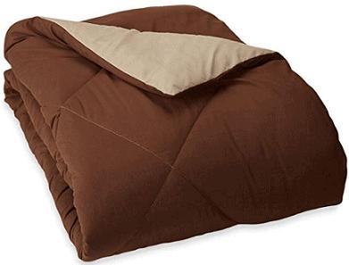 AmazonBasics Reversible Microfiber Comforter