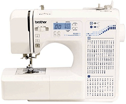 Computerised Brother FS101 Computerized Sewing Machine