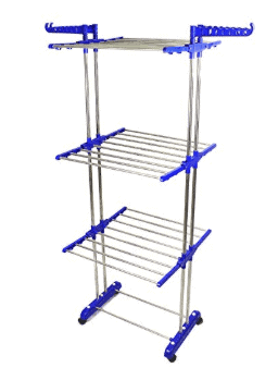 TNC Premium Heavy Duty Stainless Steel Cloth Drying Stand
