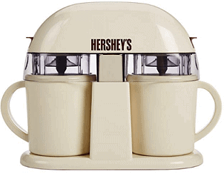 HERSHEYS Dual Single Serve Ice Cream Machine