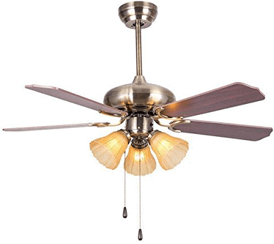 Hans Lighting Ceiling Fan with Light