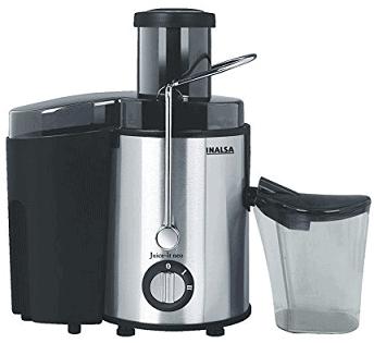 Inalsa Juice It Neo 500-Watt Juicer with Pulp Collector