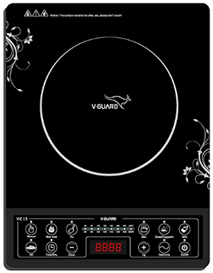 V Guard VIC-15 2000-Watt Induction Cooktop
