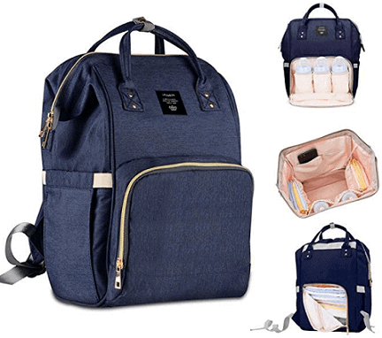 Robustrion Stylish Waterproof Multifunctional Diaper Backpack