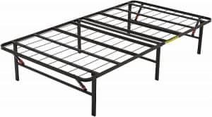 Amazon Basics Platform Foldable Steel Bed Frame